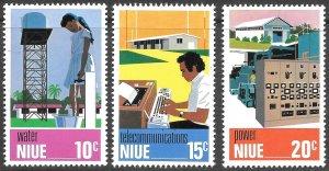 Niue # 189 - 91 Used  [9246]