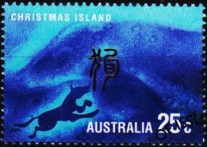 Christmas Island. 2004 25c Fine Used