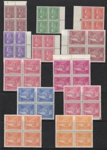 1957 Nepal, Sg N° 103/114 Crown Nepalese 12 Values MNH / Mlh
