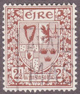 Ireland 110 USED 1941 Coat of Arms
