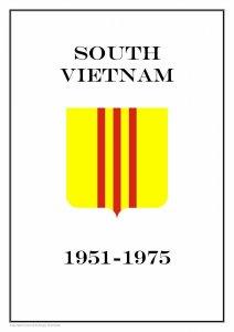 South Vietnam 1951-1975 PDF (DIGITAL) STAMP ALBUM PAGES