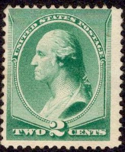 US Stamp  #213 MINT NH SCV $120