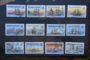 Pitcairn Island 1988 Ships set to $5 Fine Used SG315 - SG326