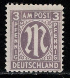 Germany AM Post Scott # 3N2, mint nh