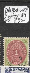 DANISH WEST INDIES  (P1304B) SG  5    VFU