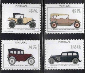PORTUGAL Scott 1903-1906 MNH** Antique Car set