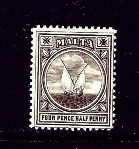 Malta 42 MH 1905 issue