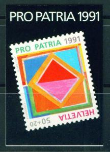 Switzerland Scott B568 Booklet 1991 CV$10