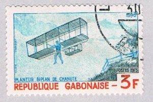 Gabon Plane 3f - pickastamp (AP103410)