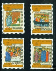 VATICAN Scott 1052-5 mnh** Holy Year set