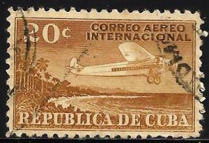 Cuba 1931 Air Mail Scott# C7 Used