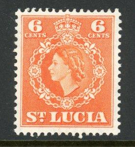 St. Lucia 162 MH 1954
