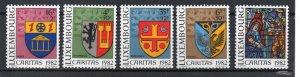Luxembourg B337-B341 MNH
