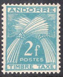 ANDORRA-FRENCH SCOTT J34