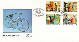 Ciskei - 1986 Bicycle Factory FDC SG 99-102