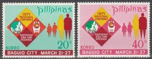 Philippine Is #1098-9   MNH  (S6060)