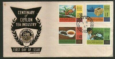 Sri Lanka 1967 Tea Industry Reaserch Export Cup Plant Sc 405-8 FDC #16237