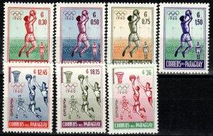 Paraguay #556-9, C262-4   MNH  (X240)