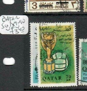 QATAR   (PP0106BB)     SG 189-90    VFU