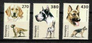 Belarus 2003 dogs set MNH