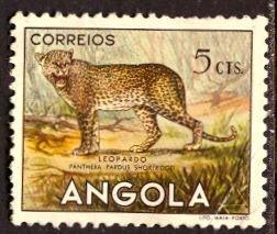 Angola; 1953: Sc. # 362: *+/MHH Single Stamp