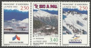 ANDORRA-FRENCH SCOTT 424
