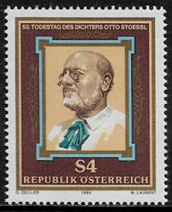 Austria #1366 MNH Stamp - Otto Stoessl