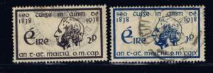 Ireland 101-02 Used 1938 set