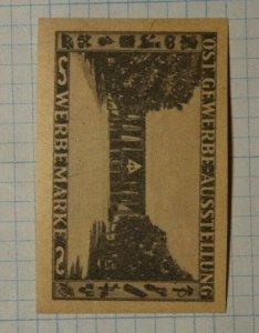 East Trade Exhibit Advertising Market German Brand Poster Stamp Ads