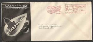 1940 COVER DECATUR IL A W CASH CO STREAMLINED REDUCING VALVES