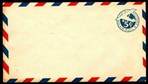 1929 UC1 BORDER (A) AIRMAIL ENTIRE - VF - COURTESY LISTING - CV$4.50 (ESP#005)