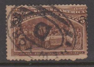USA Sc#234 Used