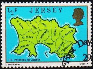 Jersey. 1976 1/2p S.G.137 Fine Used