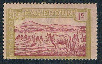 Cameroun 170 MLH Herder and Cattle (BP5415)