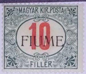 Fiume Scott #P8* lh (1919)