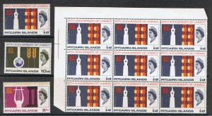PITCAIRN ISLANDS 1966 UNESCO ANNIVERSARY