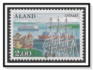 Aland #23 Mariehamn West Harbor MNH