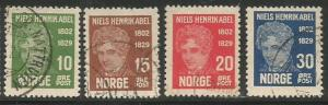Norway Scott #145-148 Stamp - Used Set