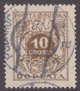 Poland J72 Polish Eagle Arms & Post Horns 1924