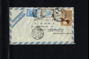 1952 - Argentina Air letter - To Bennekom (NL) [B06_108]