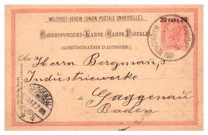 Austria Offices Abroad Austrian Offices in Crete 5Kr Kaiser Franz Joseph Post...
