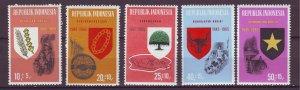 J25140 JLstamps 1965 indonesia set mnh #b182-6  designs