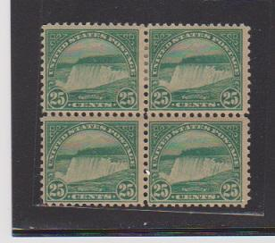UNITED STATES  STAMP #568 BLOCK OF 4  MNH.  LOT #US699