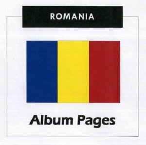 Romania - CD-Rom Stamp Album 1858-2017 Album Pages Classic Stamps Illustrated