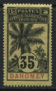 Dahomey 1905 35 centimes mint o.g.
