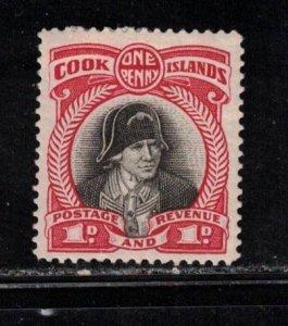 COOK ISLANDS Scott # 85 MH - Captain Cook