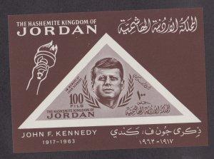 Jordan # 462 (Footnote), John F. Kennedy, Souvenir Sheet, NH, 1/2 Cat.