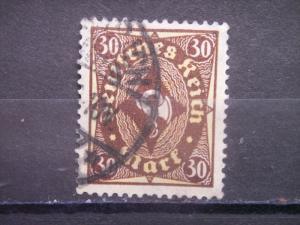 GERMANY, Empire, 1921-22, used 30m, Post Horn Scott 183