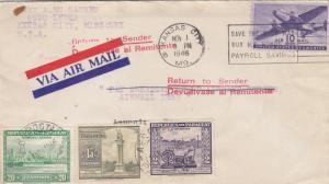 1946, Test Flt., Kansas City, MO to Asuncion, Paraguay, See Remark (18275)