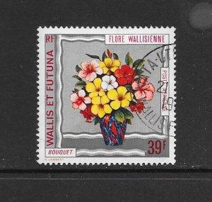 WALLIS & FUTUNA #C53  FLOWERS   CANCELLED